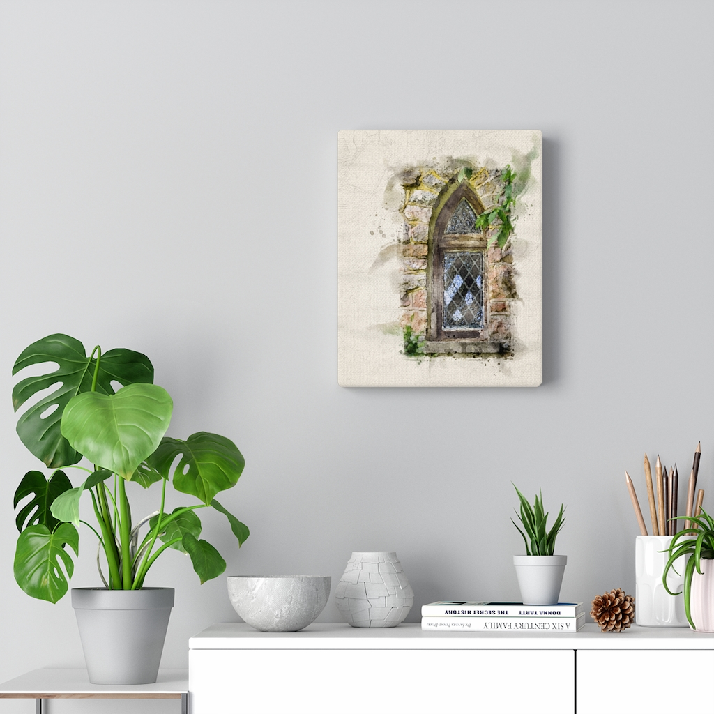 glass-window-and-leaves-watercolor-canva