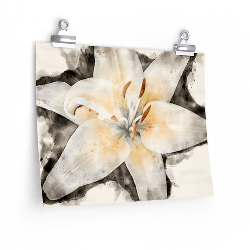 Lily Watercolor Print