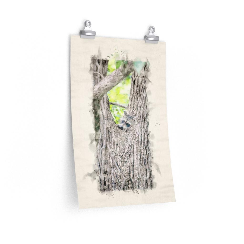 peeking-raccoon-watercolor-print