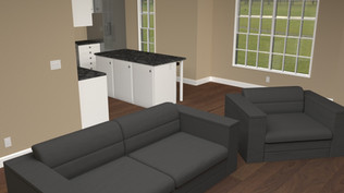 Created in Maya. Rendering done in Arnold Renderer. Modeled cabinets, doors, and windows. Textured all.