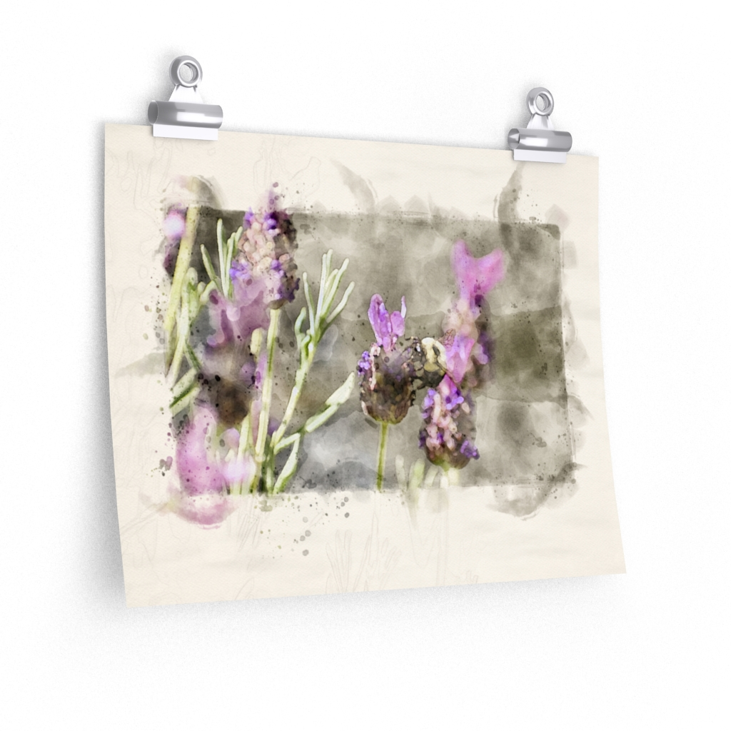 bee-and-lavender-watercolor-print