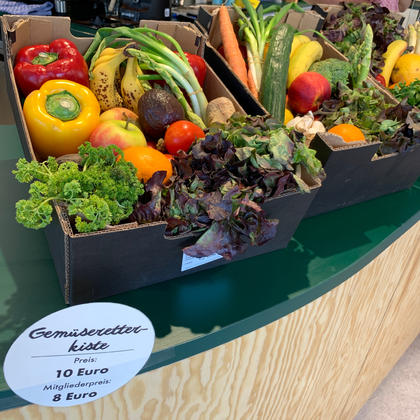 Unsere Gemüseretterkiste