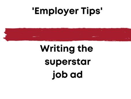 6 Tops Tips on writing a Job Ad