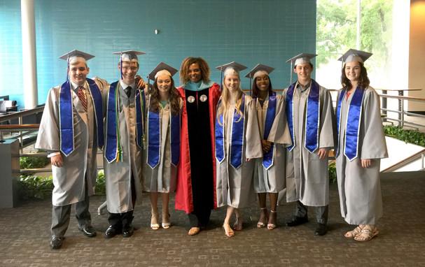 Harper Middle College High School Graduates