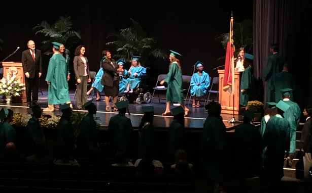Levine Middle College High School Graduates