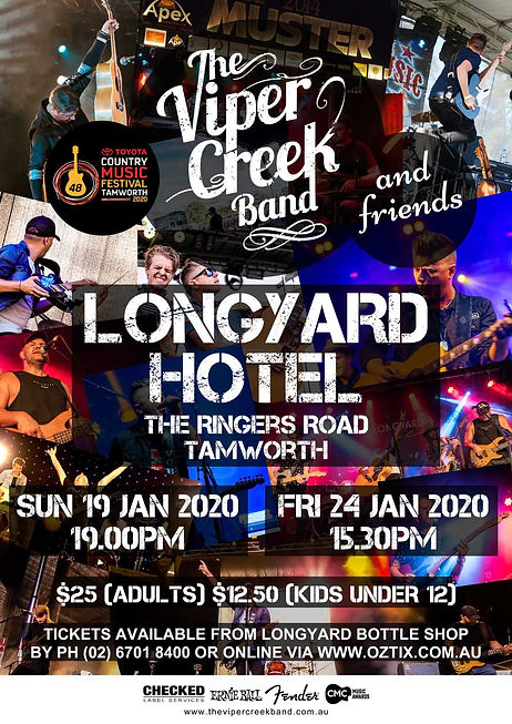 The Viper Creek Band Tamworth Country Music Festival 2020