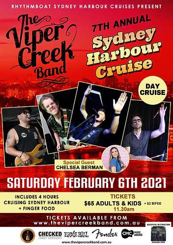 SYDNEY HARBOUR DAY CRUISE 2020-ADULT TICKETS