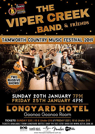 The Viper Creek Band Tamworth Country Music Festival2019