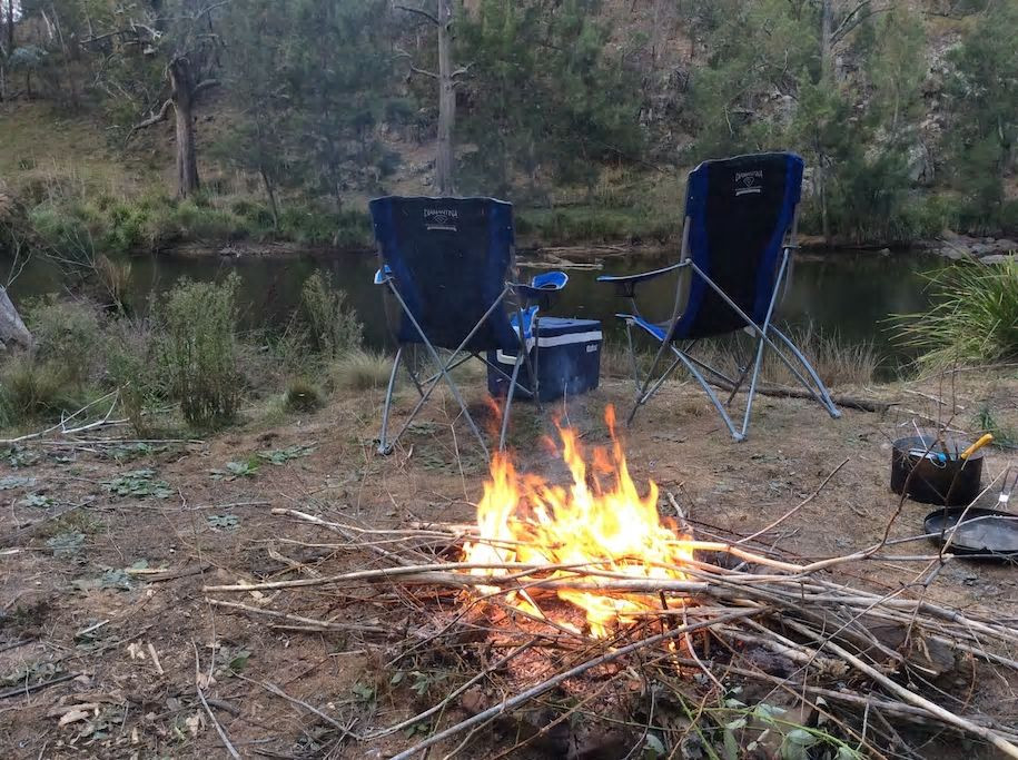 Wollondilly river camping