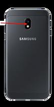 Lentille appareil photo arrière Samsung Galaxy J7