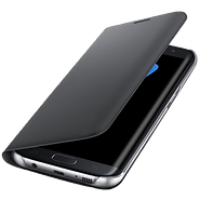 Etui noir officiel Samsung Galaxy S7 edge - Allo réparation