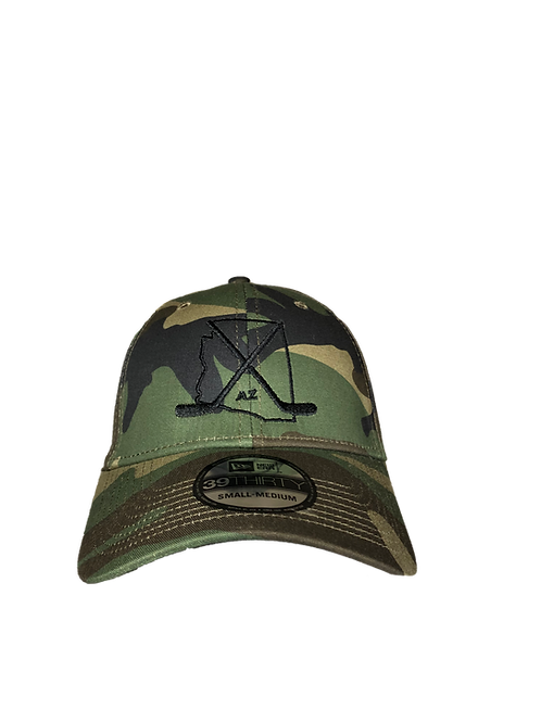 Arizona Camo Fitted Curved