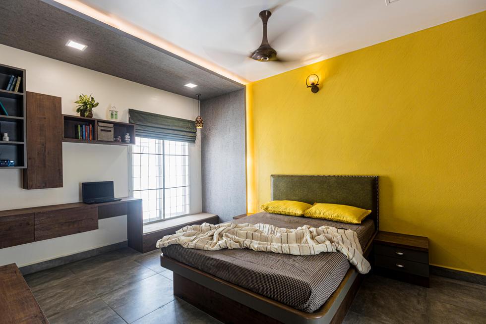 Bedroom image by Behlah Barbhaya shot for Brick By Brick