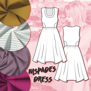What She's Made Of: Inspades Dress