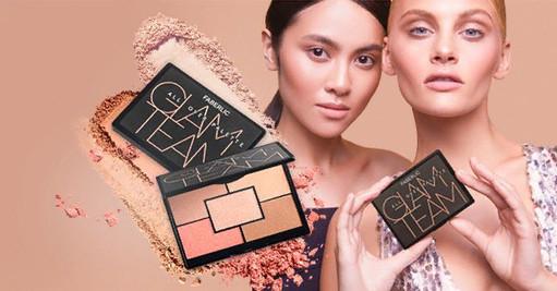 Paleta na obličej Glam team