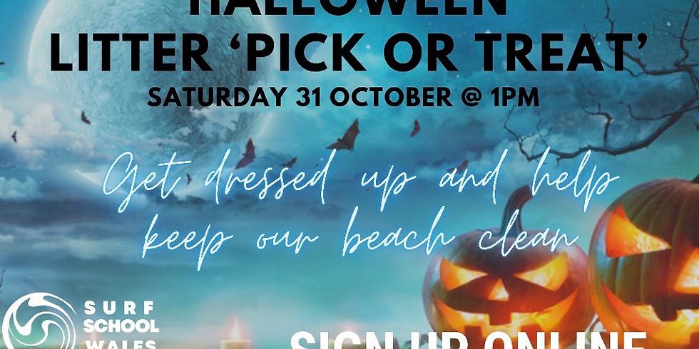 FREE Aberavon Beach Halloween Litter Pick or Treat
