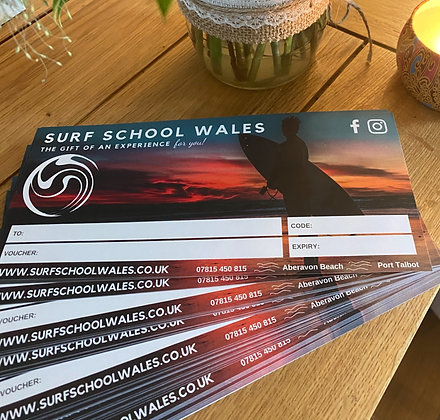 All day Summer Surf Lesson Voucher