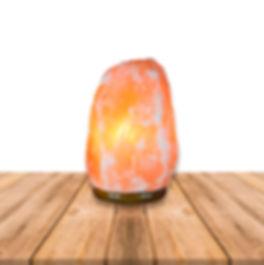 lampara de sal rosada