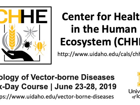 Announcement: Second annual six-day course on Biology of Vector-borne Diseases