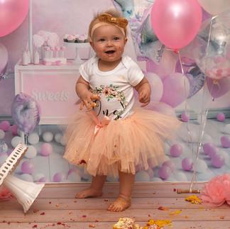 Skylah's 1st Birthday