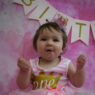 Holly's 1st Birthday