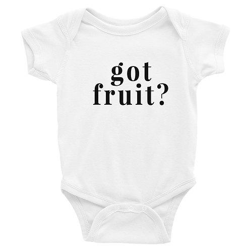 GOT FRUIT INFANT BODY SUIT