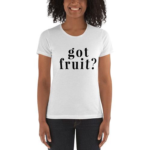 GOT FRUIT WOMEN'S BOYFRIEND T-SHIRT