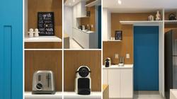 Cozinha e copa branca e madeira 4