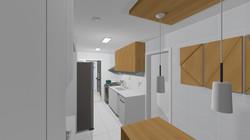 Apto148 18 cozinha e copa