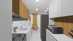 Apto148 15 cozinha e copa