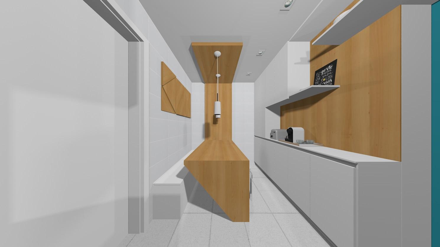 Apto148 22 cozinha e copa