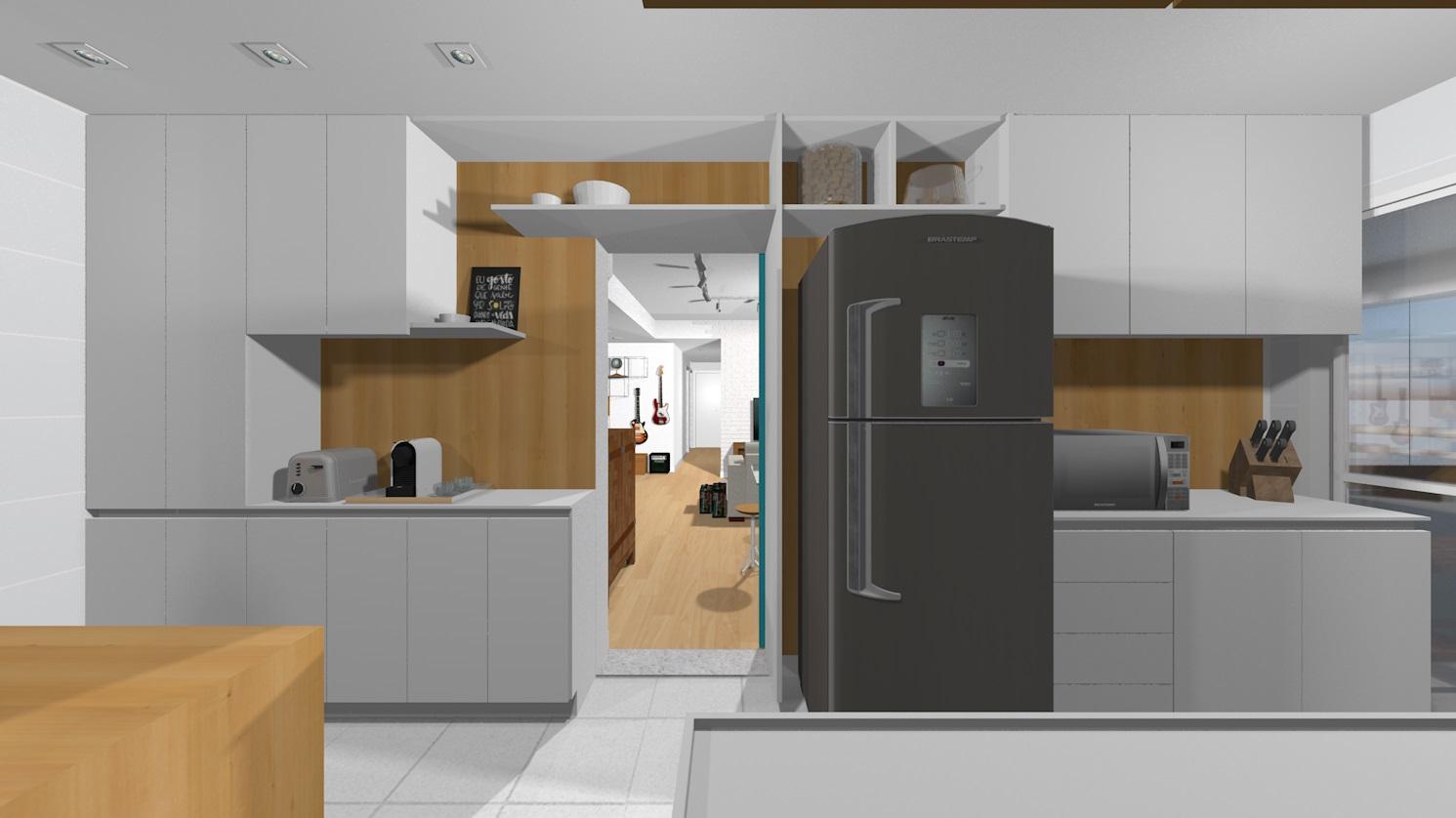 Apto148 23 cozinha e copa