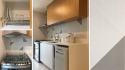 Cozinha e copa branca e madeira 3
