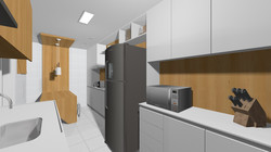 Apto148 16 cozinha e copa