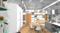 Ap88 07 sala e cozinha