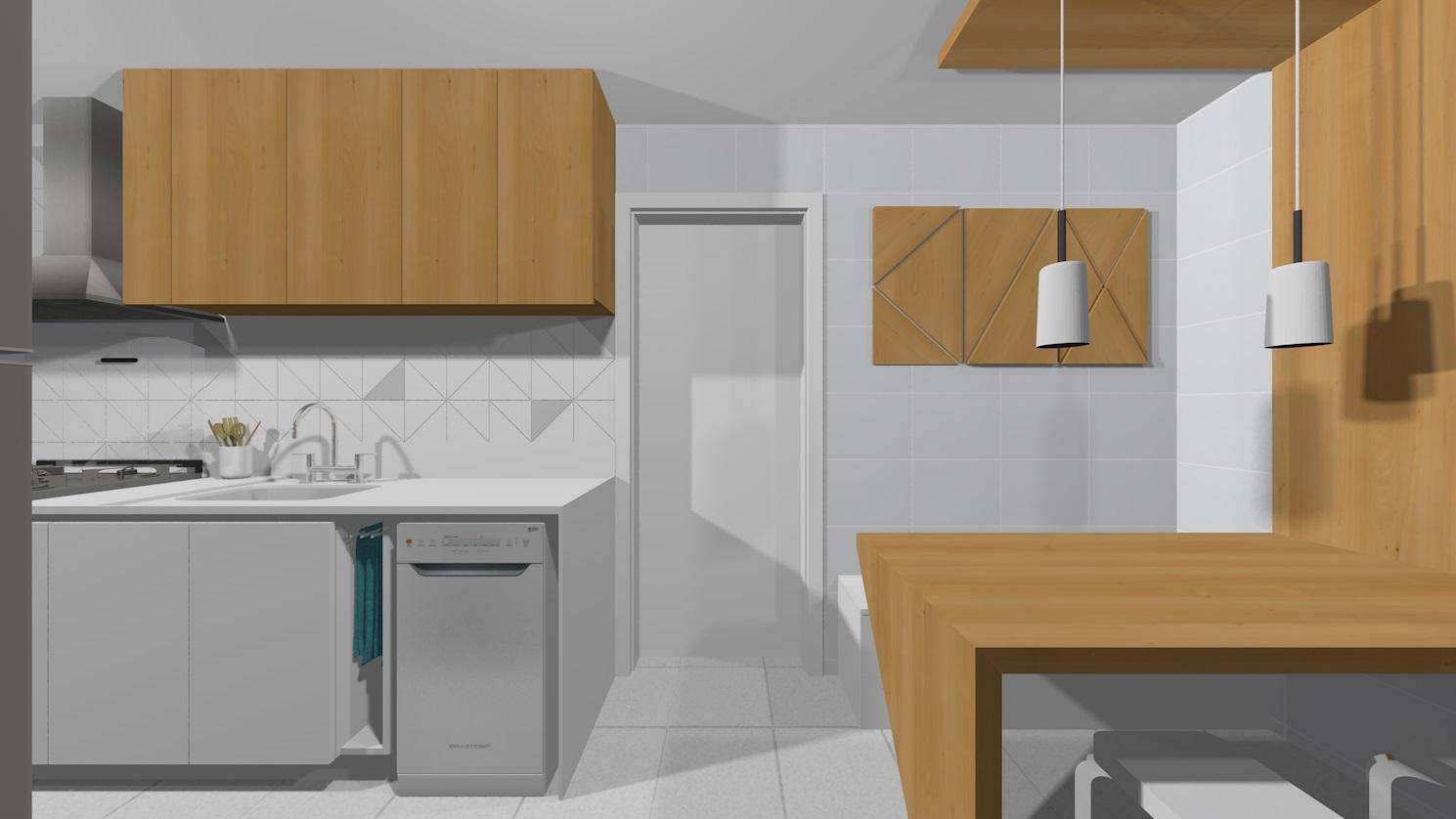 Apto148 21 cozinha e copa