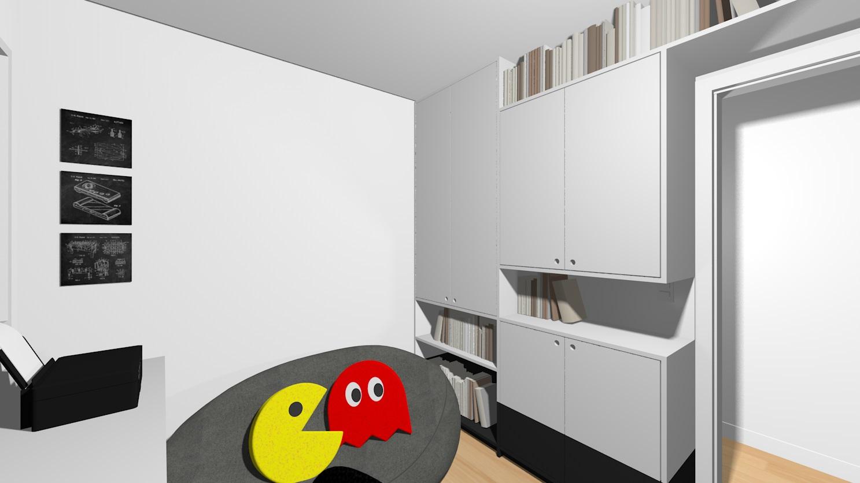 Apto148 34 escritorio e games