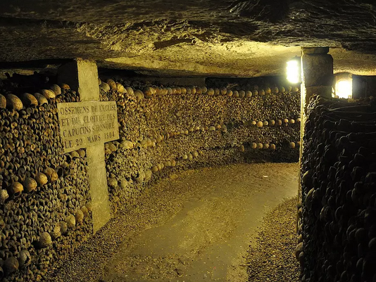 Ambiance catacombe pour escape game