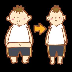 痩せすぎ注意!!