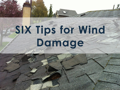 Six Tips for Wind Damage