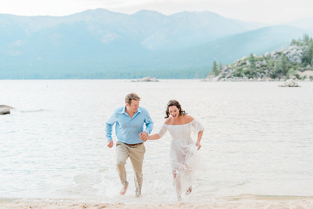 south lake tahoe engagement photos