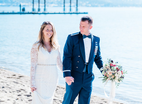 Intimate Elopement at Hyatt Lakeside Cottages in Lake Tahoe, CA