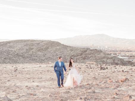 Danielle & Doug | Engagement Session | Huffaker Hills Reno, NV