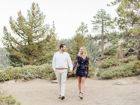 Michele & Corey | Fall Engagement Session | Emerald Bay Lake Tahoe