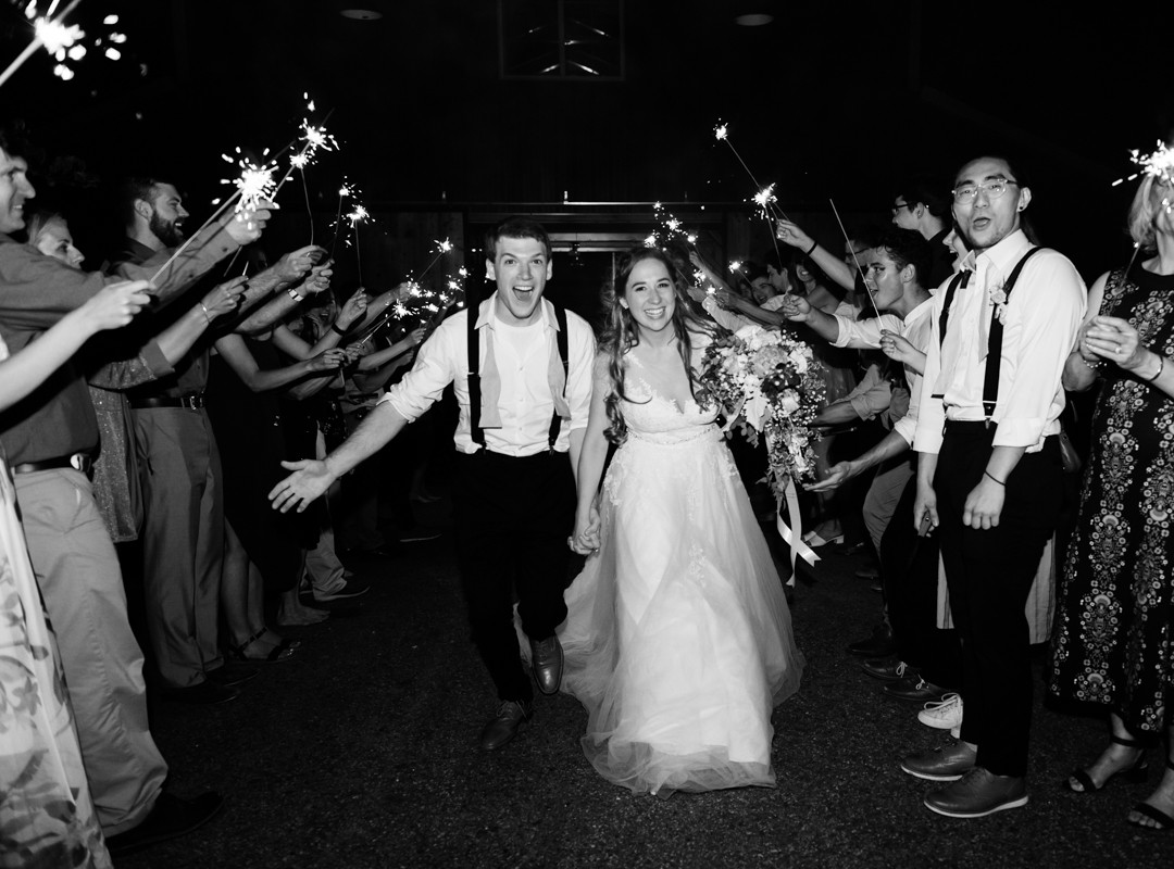 the-river-house-ben-lomond-summer-wedding-sparkler-exit