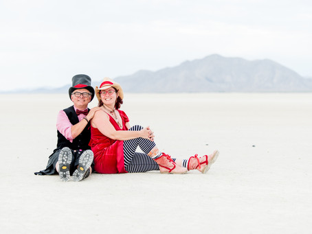 Elopement by The Hytch at Black Rock Desert