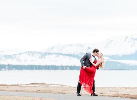 Elegant Engagement Session at Edgewood Tahoe