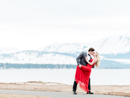 Elegant Engagement Session at Edgewood Tahoe