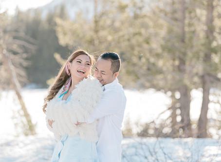 Madea & Joel | Anniversary Session at Chickadee Ridge Lake Tahoe