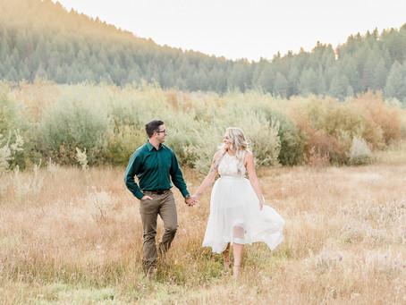 Kellie & Nick | Sunrise Engagement Session | Spooner Lake - Lake Tahoe